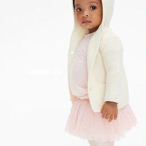 Baby Gap Leggings With Tulle Skirt Trim